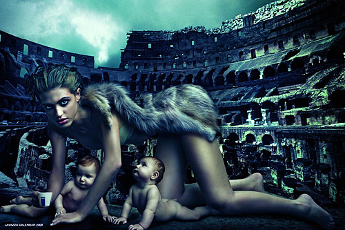 ANNIE LEIBOVITZ ETERNALIZED THE ITALIAN STYLE
