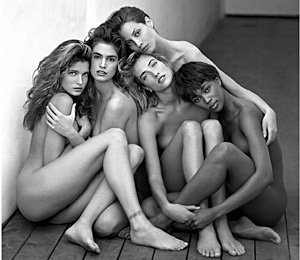 The notable works of art of the legend of photography Herb Ritts
